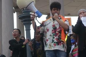 #BPSwalkout organizer Jali Spaloss