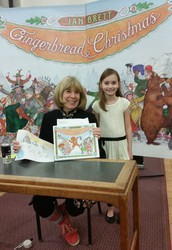 Dorr 2nd Grader Visits Author/Illustrator