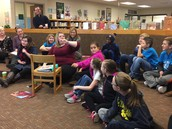 Dorr's Student Council Joins PBIS Meeting