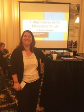 Baker Music Teacher presents at Michigan Music Conference