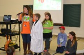 Steeby Kicks off Jump Rope for Heart
