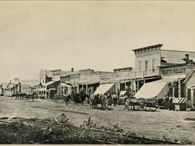 Dodge City in 1878