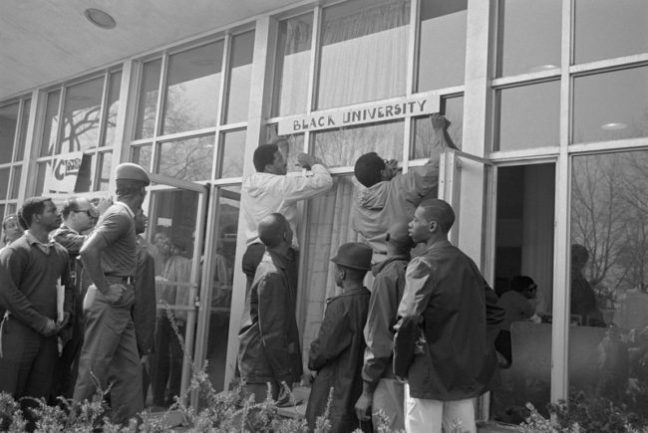 Howard Protest 1968