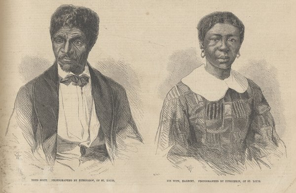 Dred and Harriet Scott 1857