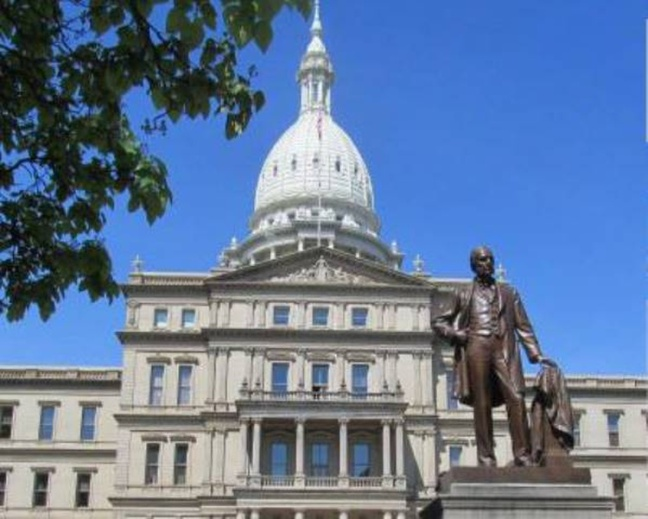 Michigan State Capitol Building (photo courtesy State of Michigan)