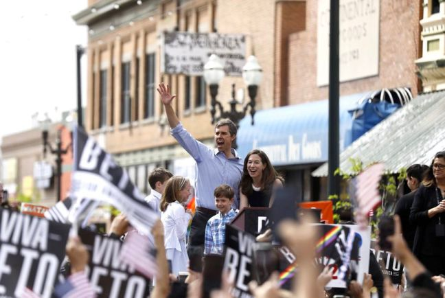 Presidential candidate Beto O'Rourke and his family officially launched his 2020 campaign in El Paso last weekend.