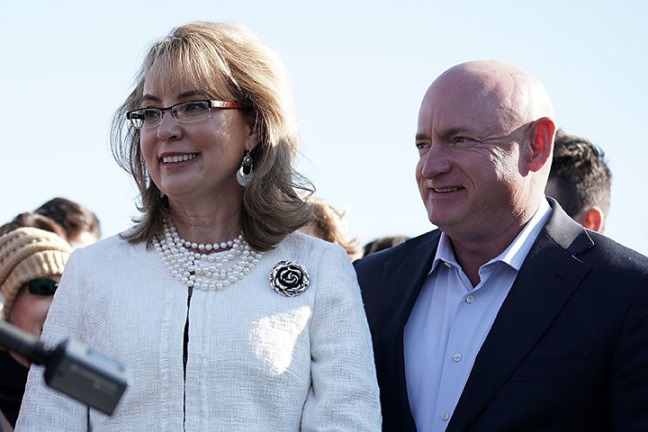 Gabby Giffords and Mark Kelly - Arizona gun control